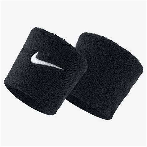 nike swoosh wristbands blackwhite great discounts pdhsports
