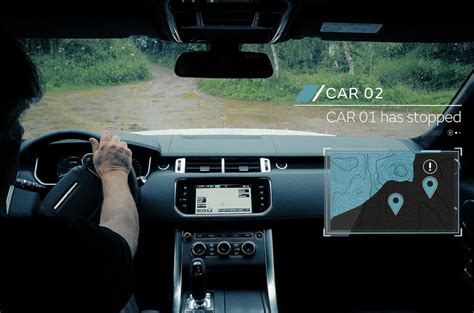 Jaguar Land Rover Reveals Off-road Autonomous Driving