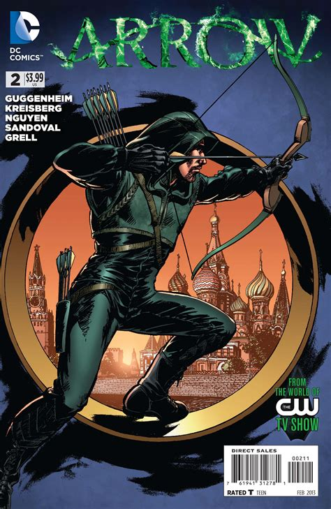 Arrow #2 Preview From Dc Comics