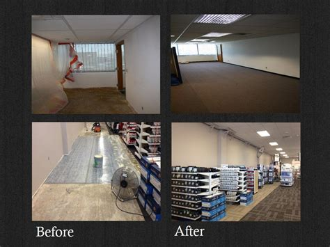 commercial flooring install repair and maintenance