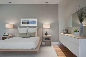 Wandfarbe grautone fur die wande ihrer wohnung for Graue wand schlafzimmer