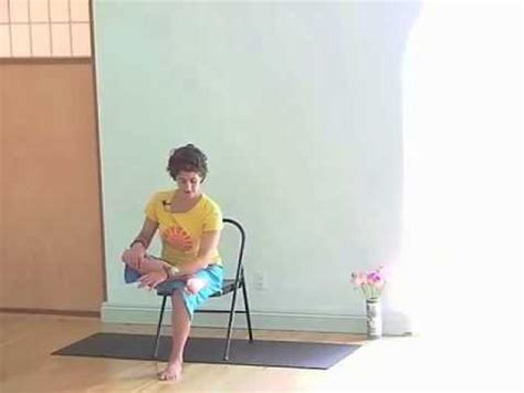 chair yoga series opening the hips 1 3 of 9 youtube