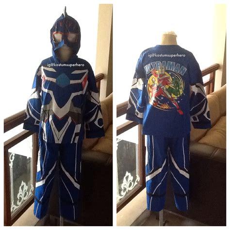 baju kostum anak anak ultraman biru superheroku