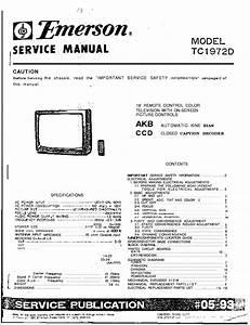 Orion Emerson Tc1972d Tv Service Manual Download