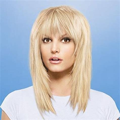 long haircuts for women medium hairstyles with bangs are
