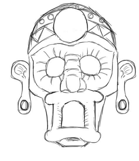 aztec mask template aztec mask template www imgkid the image kid has it