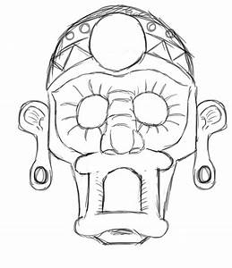 aztec mask template wwwimgkidcom the image kid has it With aztec mask template
