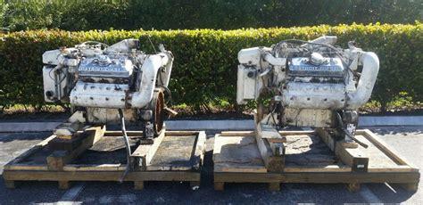 detroit diesel  ta  marine engines
