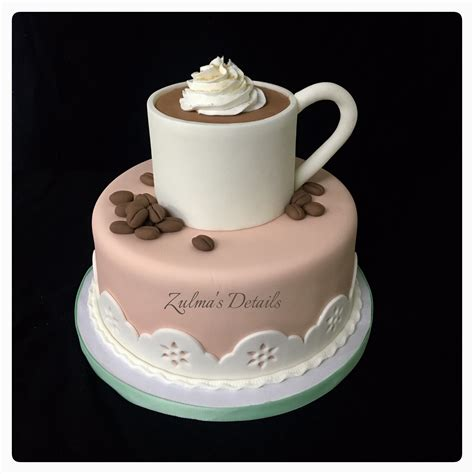 What birthday cakes do you make for your little ones? Coffee   Coffe mug cake, Cake, Cake shapes