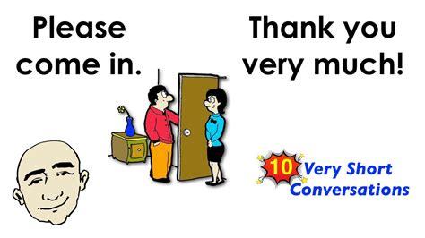 short conversations set  easy english
