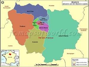 Code Postal Val D Europe : carte de la r gion ile de france d partements les ~ Dailycaller-alerts.com Idées de Décoration
