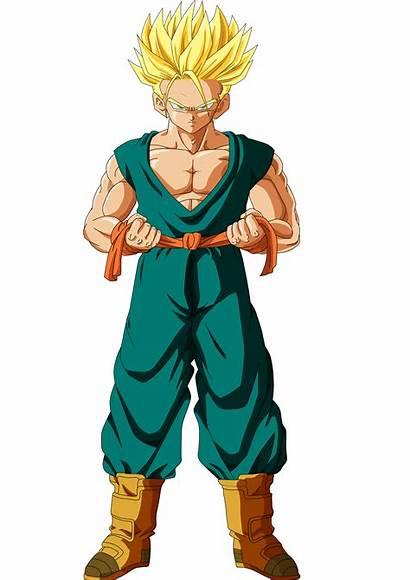 Trunks Saiyan Super Adult Deviantart Goku Drawing