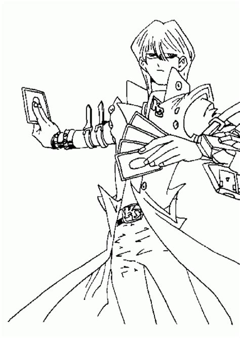 yu gi  coloring pages getcoloringpagescom