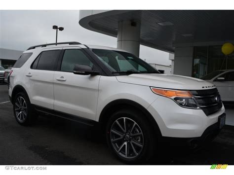 2015 white platinum ford explorer xlt 103240992