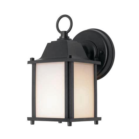 Black Porch Light by Newport Coastal Square Porch Light Black With Bulb 7974