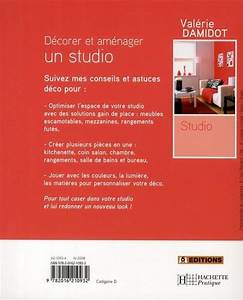 Livre Décorer et aménager un studio Valérie Damidot