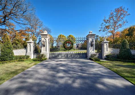 Inspired Driveway Gate vogue Dallas Traditional Landscape