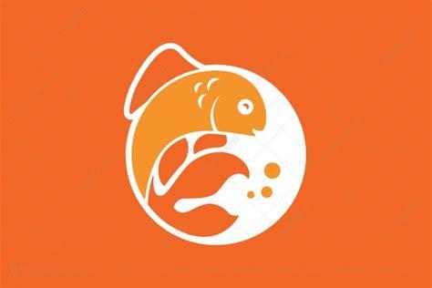 Fish Emblem Logo
