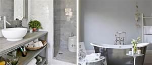 Deco Salle De Bain Gris : id es d co pour une salle de bain grise deco cool ~ Farleysfitness.com Idées de Décoration