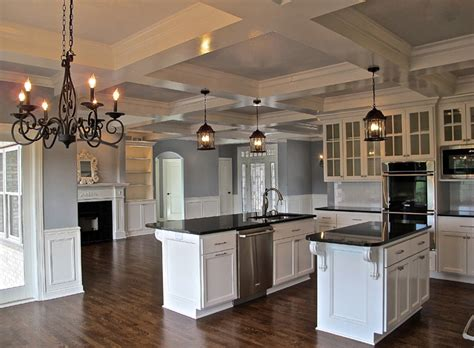 modern kitchen cabinet million dollar look in 2 400 sf traditional kitchen 4207