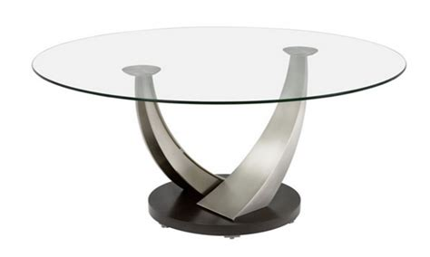 Small glass coffee table, small round glass coffee table