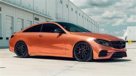RodSpeed's Custom Mercedes-AMG E53 Coupe Crawls on Vossen ...