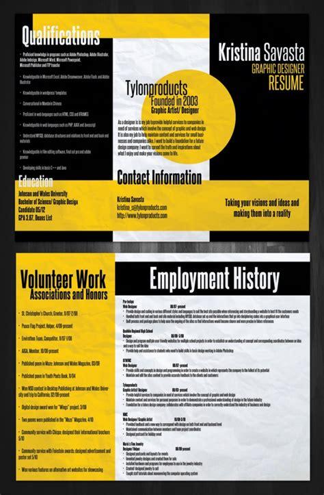 brilliant  colorful resume designs