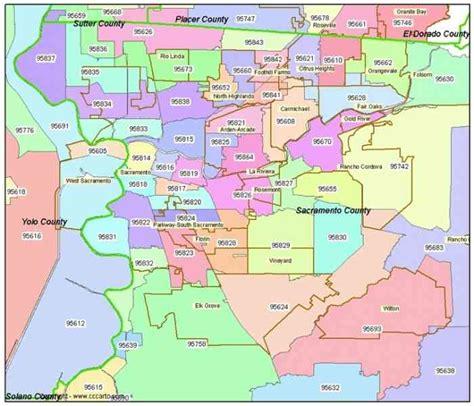 Sacramento California Zip Code Map.North Sacramento California Zip Code Map