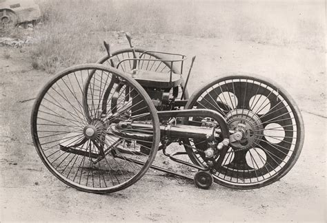 The World's First Motorcycle