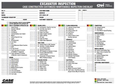 excavator maintenance tips