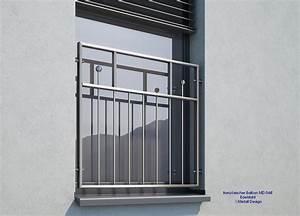 franzosischer balkon edelstahl md04e i deutschland With französischer balkon mit gartenzaun metall günstig kaufen