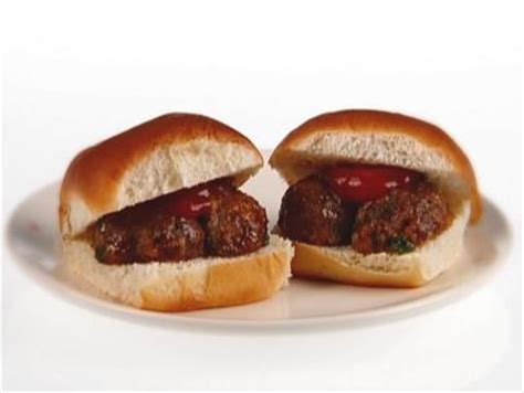 mini meatball heroes recipe giada de laurentiis food