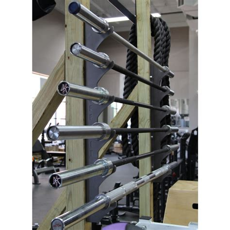wall mounted weight rack cff wall mounted olympic bar storage rack