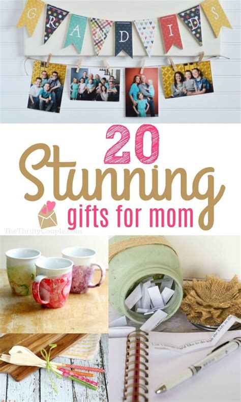 stunning diy gift ideas  mom  thrifty couple