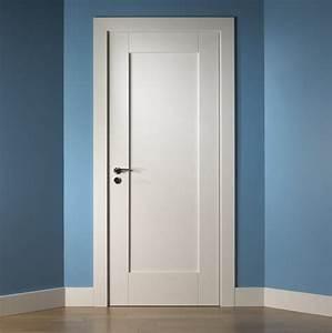 1 Panel shaker style interior doors Home Doors Design