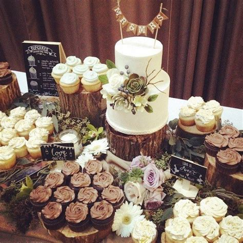 16 Country Rustic Wedding Dessert Table Ideas Page 4 Of