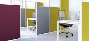 Cloison Acoustique Bureau : accessoires de bureau cloisons et s parations mobilier ~ Premium-room.com Idées de Décoration