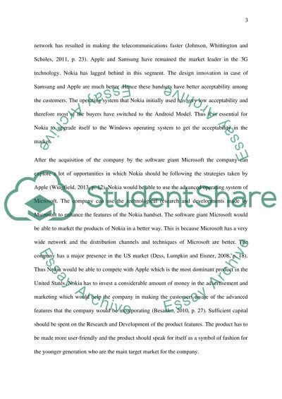 strategy briefing paper   strategic issue essay