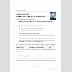 An Inconvenient Truth Video Worksheet  Free Esl Printable Worksheets Made By Teachers