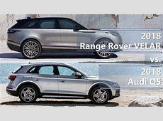 2018 Range Rover Velar vs 2018 Audi Q5 technical