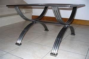 Table En Fer Forgé : forge de vulcain table en fer forg nos r alisations de table en fer forg ~ Teatrodelosmanantiales.com Idées de Décoration