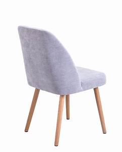 Chaise Salon Design : lot de 2 chaises scandinave pi tement ch ne dima ~ Teatrodelosmanantiales.com Idées de Décoration