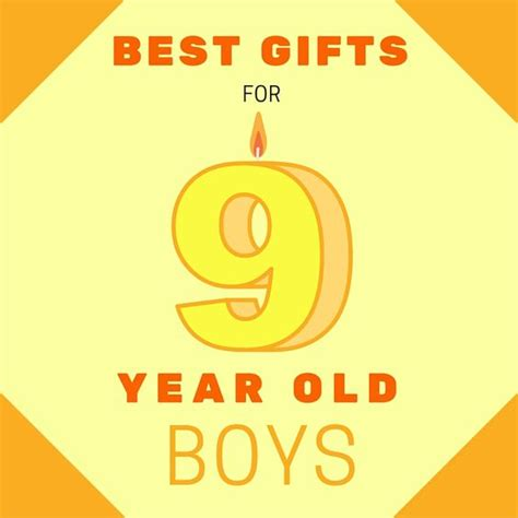 most popular birthday presents for 9 year old boys