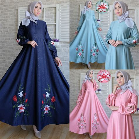 baju muslim mariana baju gamis katun remaja terbaru newdirections us