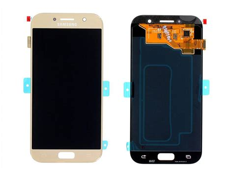 samsung af galaxy   lcd display module goud