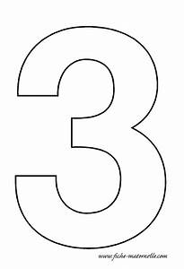 fiches maternelles chiffres a decorer en maternelle With number 3 cake template