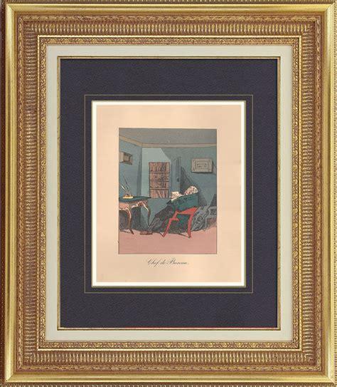 bureau chef antique prints prints of plate