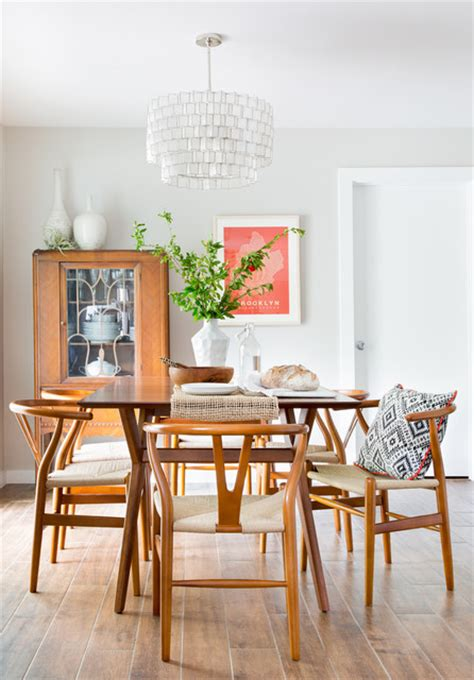 15 Charming Midcentury Modern Dining Room Designs For A
