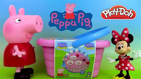 peppa pig panier de pique nique picnic basket playset p 226 te 224 modeler minnie mouse viyoutube