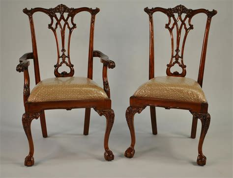 and claw dining room chairs chippendale dining chairs